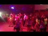 мы танцевали на флэшмоб на день рождения клуба .